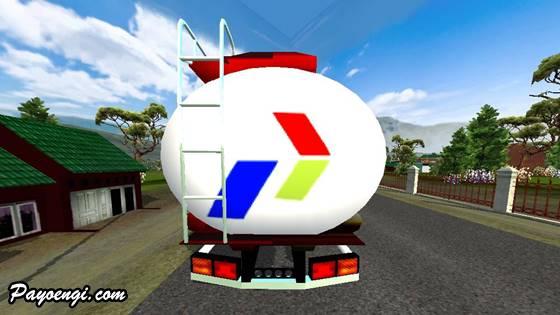 mod bussid truck tangki tua cpo pertamina