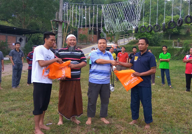 Outbound dalam rangkat menguatkan Team Marketing
