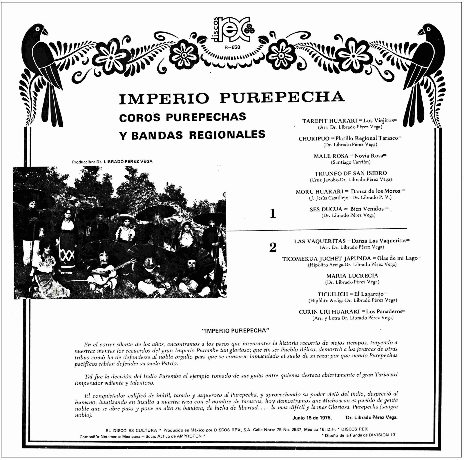 IMPERIO PURÉPECHA ~ Fonoteca de la danza folclórica de México