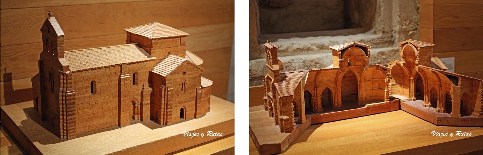 Maquetas del Monasterio de Santa María la Real