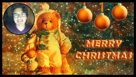 Photoshop Manipulation & Animation Project Christmas Effect