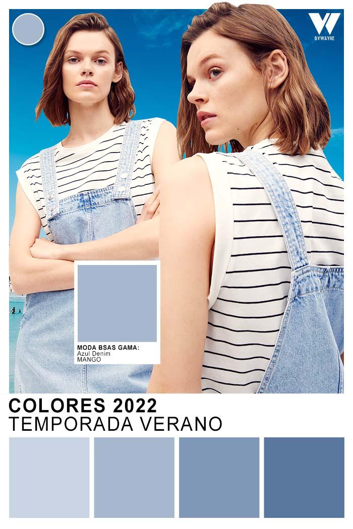 celeste moda colores verano 2022