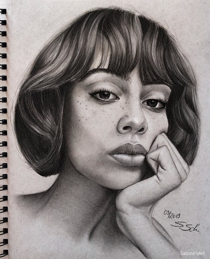 09-Kymani-Sabine-S-Charcoal-Portraits-Realistic-Drawings-www-designstack-co