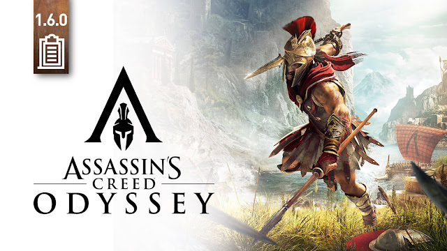 assassin's creed 6dyssey title update 1.6.0 patch 60 fps support 2018 action role-playing game ubisoft playstation 5 ps5 xbox series x xsx