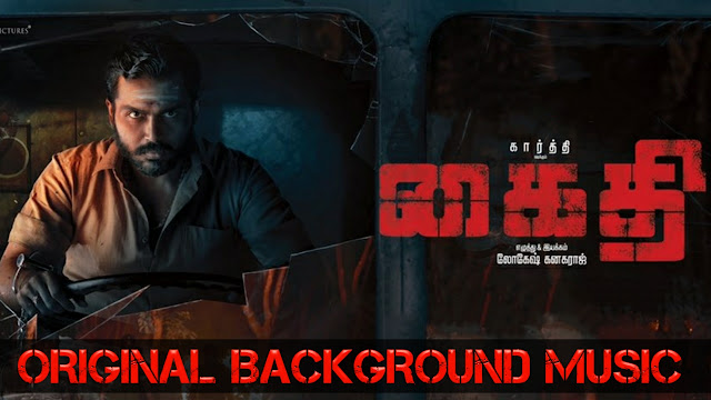 Kaithi | BGM - Ringtone | Original Background Theme Music | Download