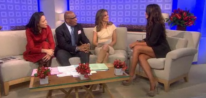 Today Show Boot and Leg Battle SOMETHING for EVERYBODY