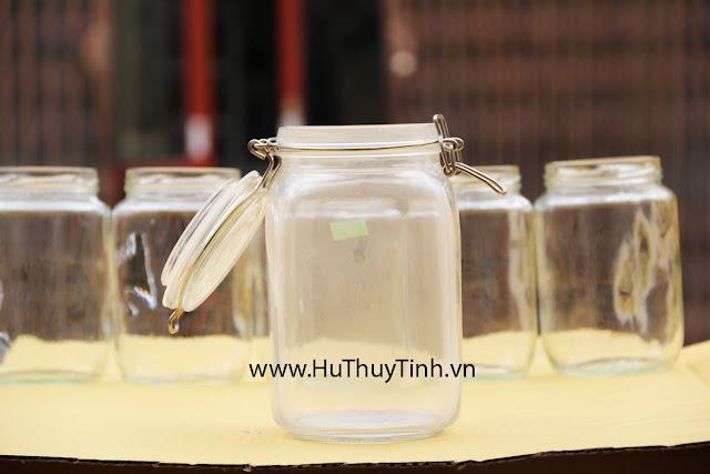 Hu quai inox 1,5 lit thuy tinh