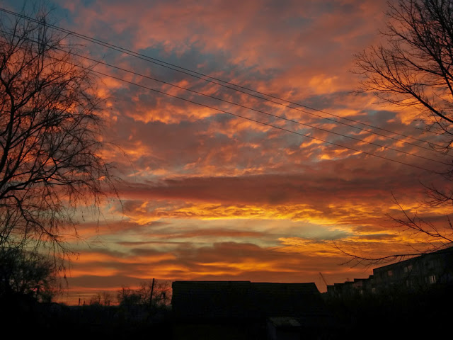 Небо в Дубоссарах