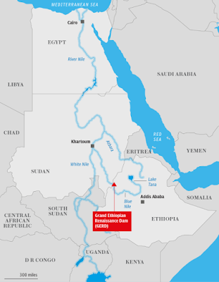 Saudi Arabia supports Egypt, Sudan 'water rights' in dam dispute