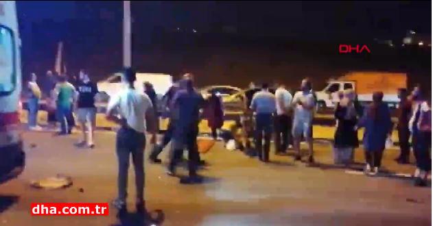 اسطنبول مقتل شخص  وإصابة العديد في منطقة جبزى