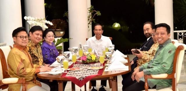 Wajar PDIP Dan Golkar Kritik Habis Jokowi, Rakyat Sedang Susah Bernapas