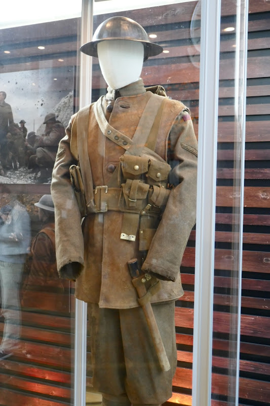 George Mackay 1917 Lance Corporal Schofield costume