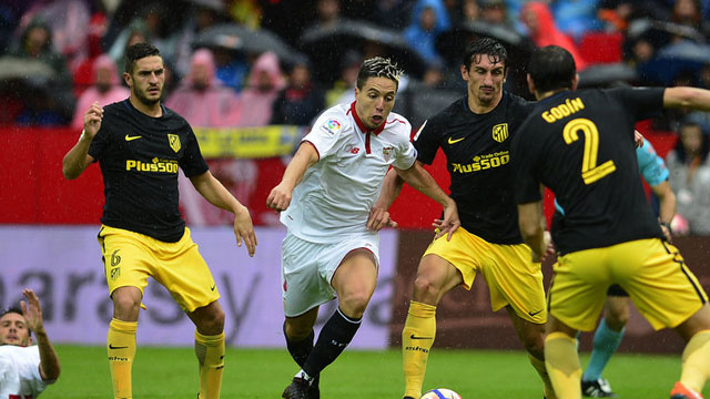 [Video] Cuplikan Gol Sevilla 1-0 Atletico Madrid (Liga Spanyol)