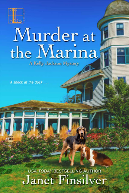 Murder at the Marina (A Kelly Jackson Mystery Book 5) by Janet Finsilver
