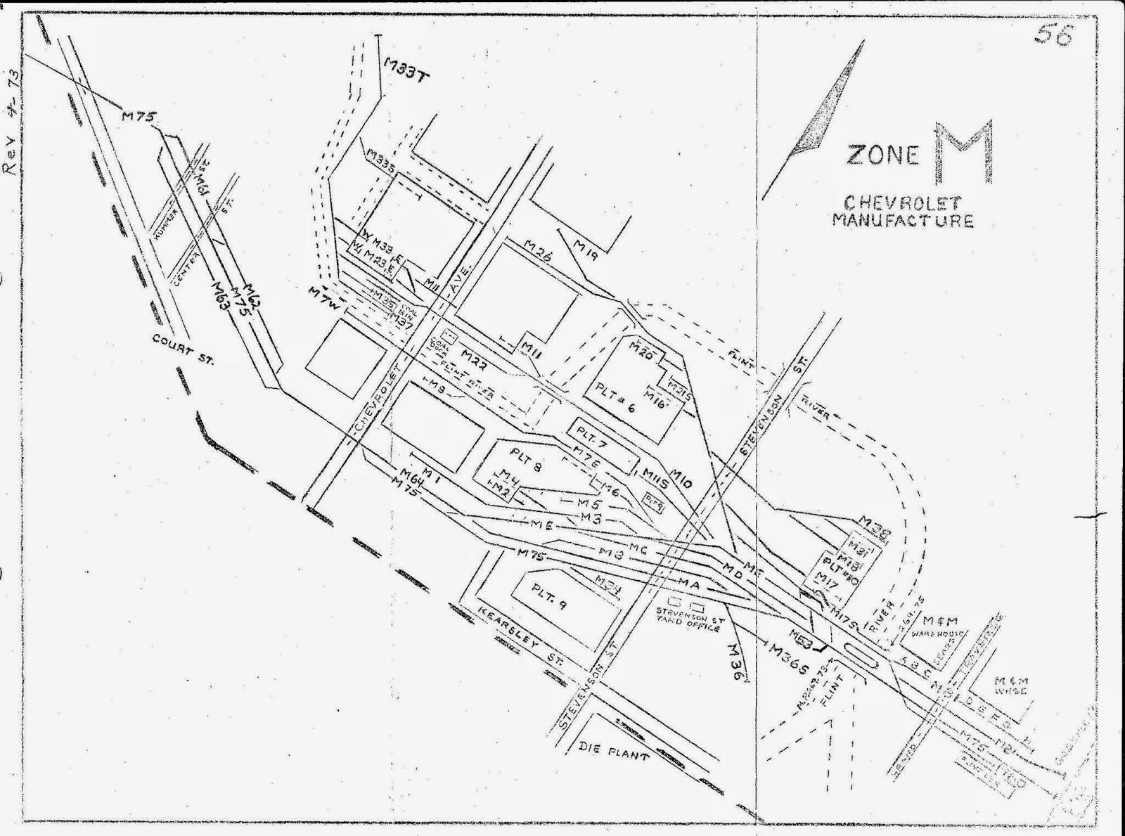 Grand Trunk Western Flint Subdivision: Flint