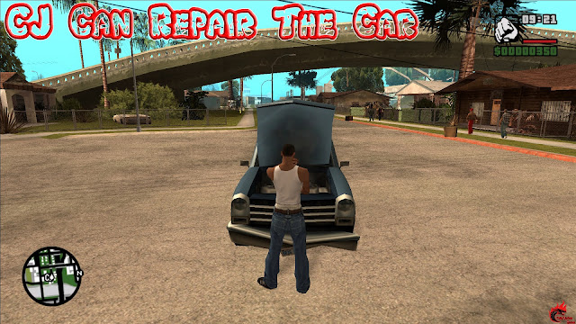 GTA San Andreas CJ Can Repair The Car Mod Pc