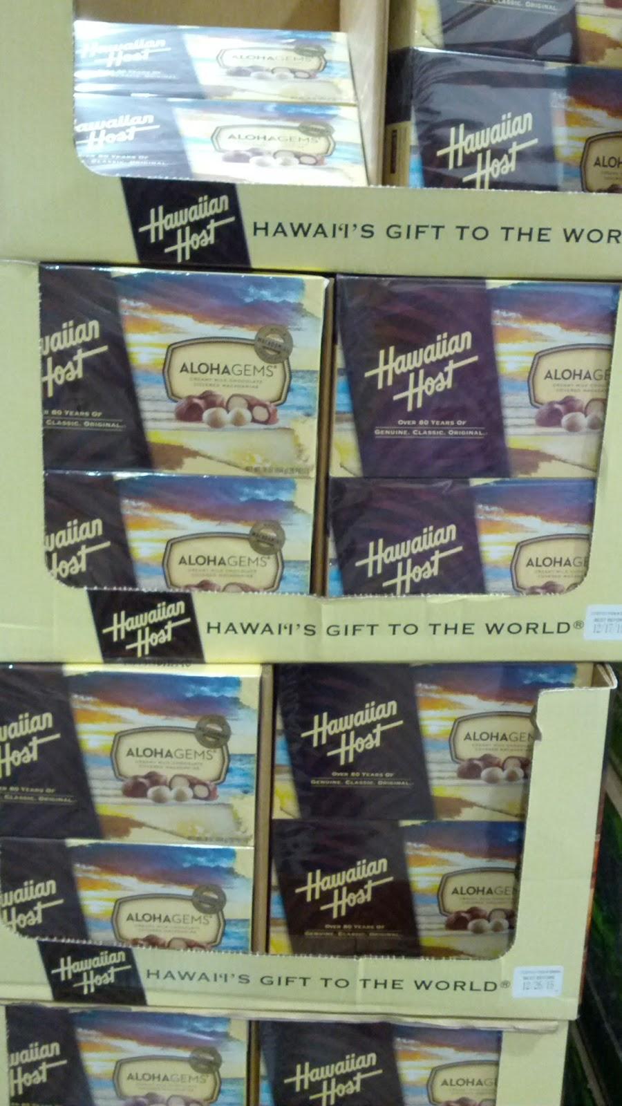 Hawaiian Host Chocolate Ered Macadamia Nuts