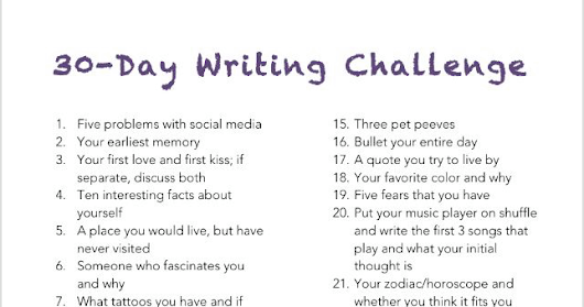 Thirty Day Writing Challenge, Day One: Five Problems With Social Media
