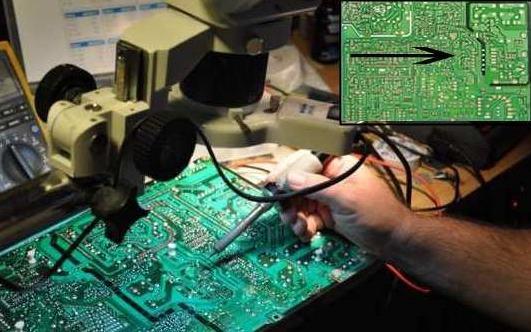 Cara cek kerusakan komponen Tv