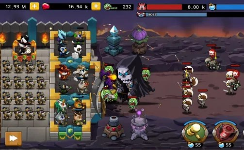 Castle defense king Apk Free on Android Game Download