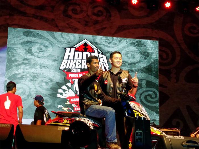 Pardi Yuwono :  Pembaca Ikrar yang Tak Menyangka Mendapat Grand Prize di Honda Bikers Day Balikpapan