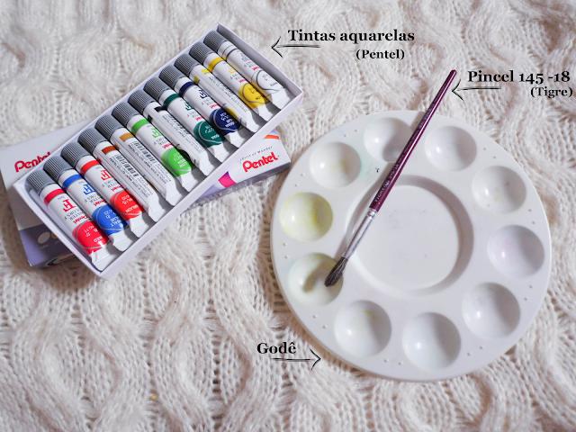 Materiais para faculdade de design de moda - Marcela Miranda Designer