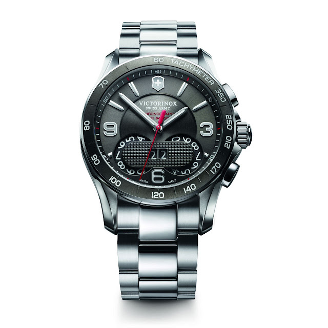Victorinox Swiss Army Chrono Classic 1/100 Watch steel