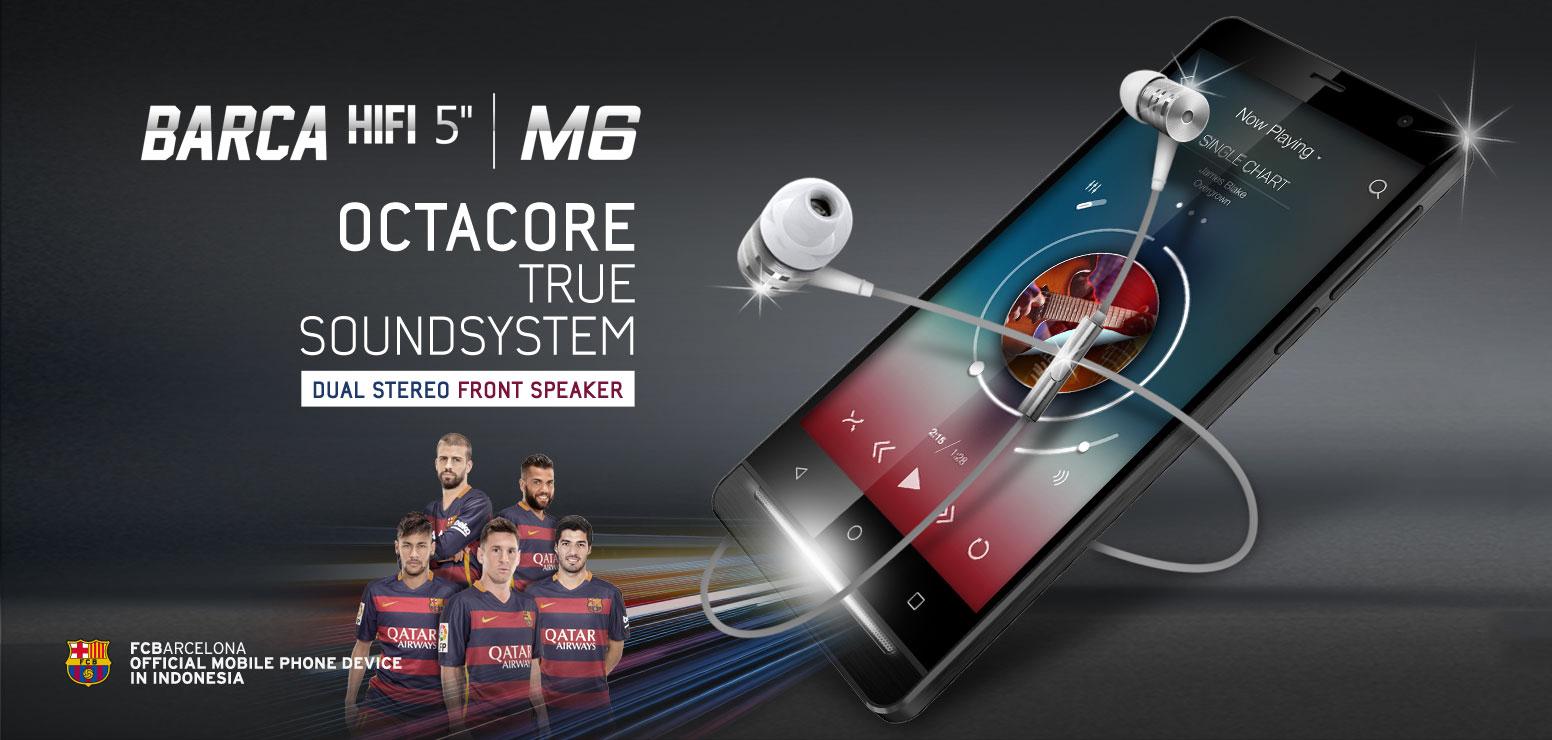 Advan Barca Hifi M6 Smartphone Berkualitas Terbaik Dengan Harga Murah
