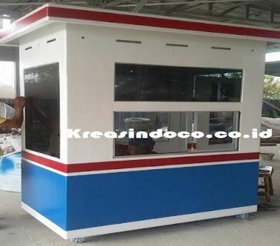 Jasa Pembuatan Pos Jaga, Pos Parkir atau Pos Satpam Besi di Bandung dengan Kualitas Premium
