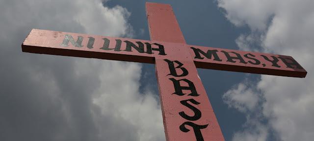 Las cruces rosadas representan en México a las víctimas de feminicidio. Gustavo Martínez Contreras