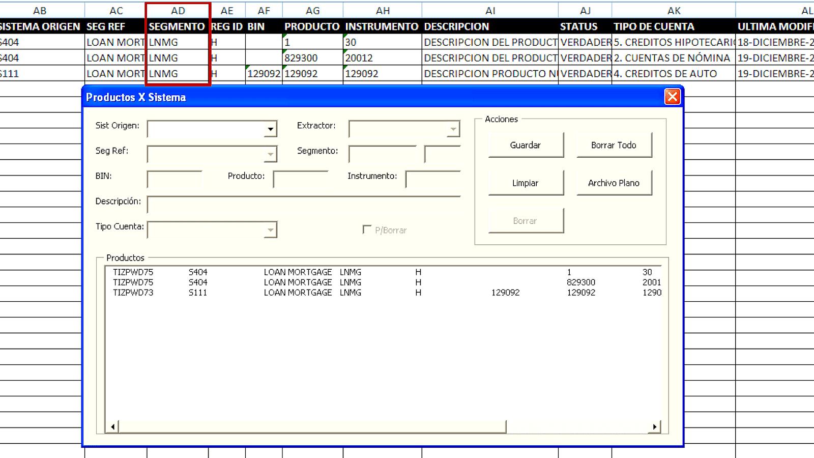 Excel Vba Column Index