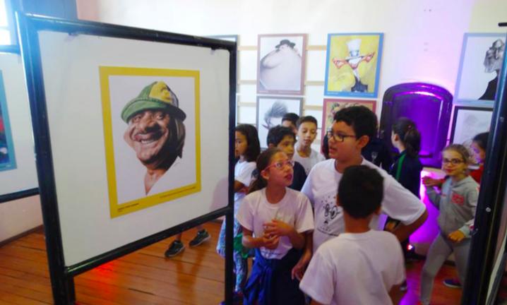 Inédita, Exposição do Salão de Humor de Piracicaba estimula a curiosidade e a criatividade da garotada