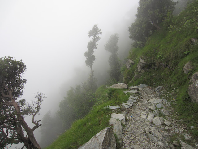 fog in triund