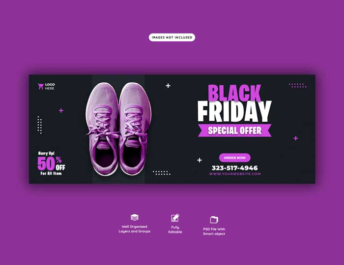 Black Friday Special Offer PSD Template