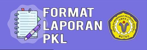 format laporan PKL SMK