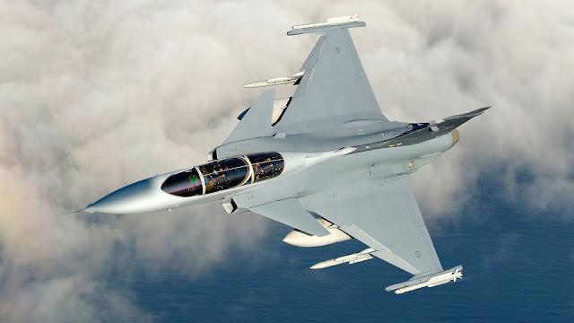 Saab JAS 39 Gripen Inflight