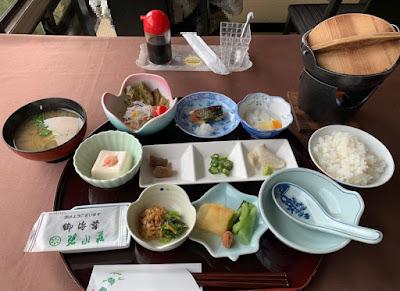 碧水荘 朝食