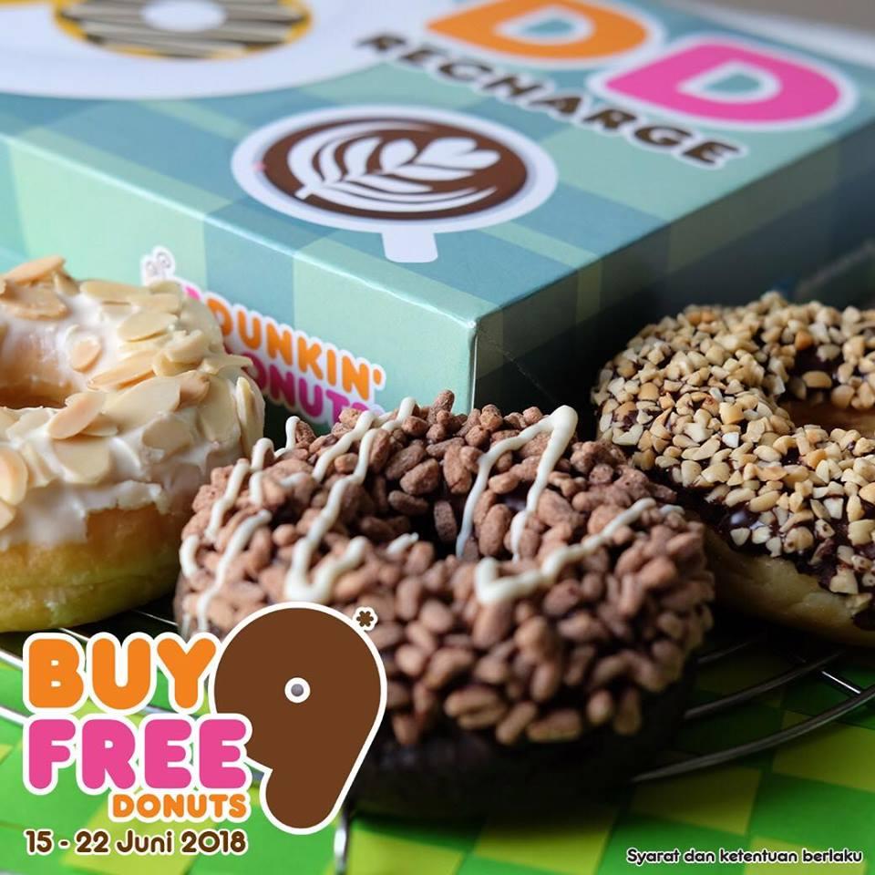 Promo Dunkin Donuts Terbaru Periode Oktober 2018