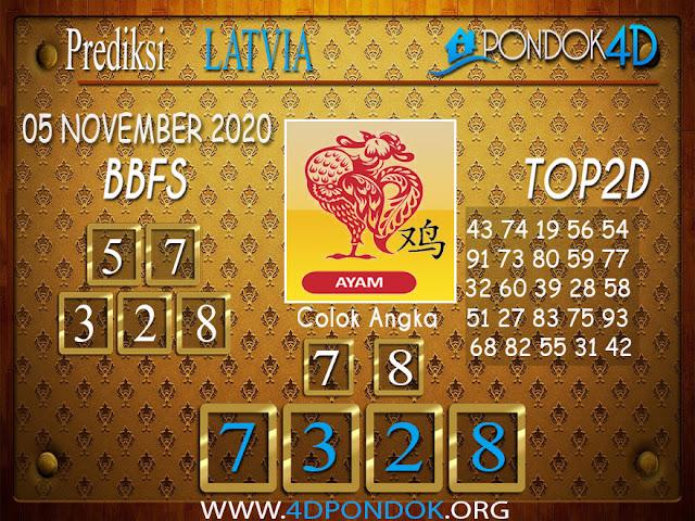 Prediksi Togel LATVIA PONDOK4D 05 NOVEMBER 2020
