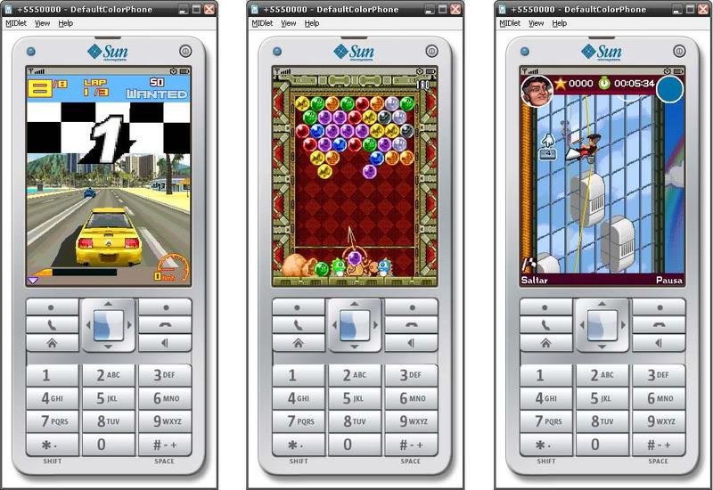 Mi celular: emuladores de juegos java de celulares en tu pc.