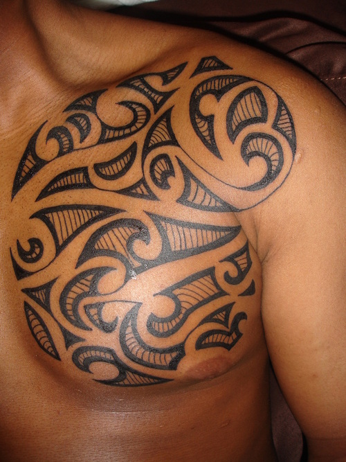 Robbie Williams Maori Tattoo Design: Maori Tattoos Design