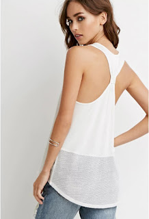 Netted Mesh Panel Tank $6 (reg $11) also in black