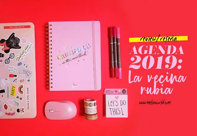 agenda la vecina rubia 2019