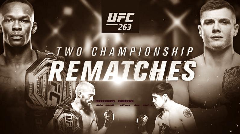بث مباشر UFC 263