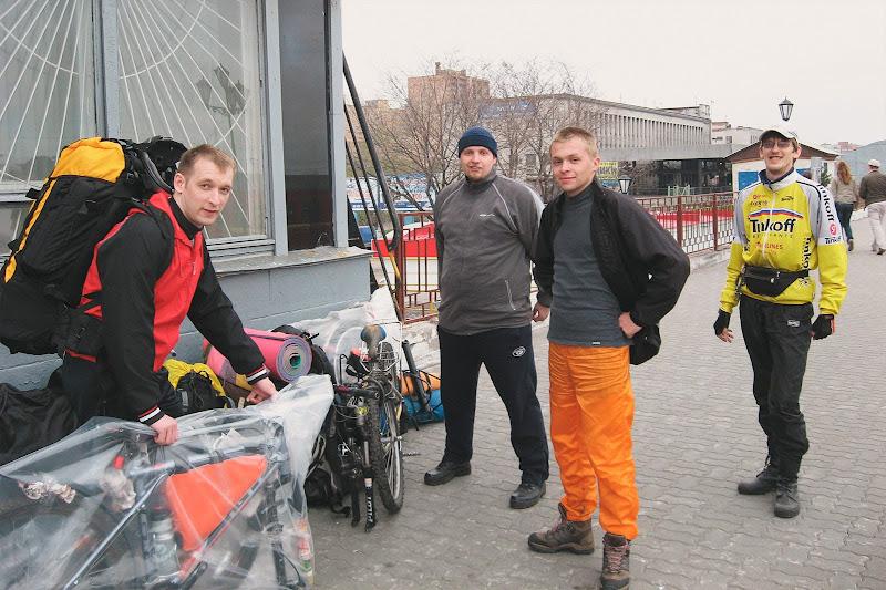 На ж/д вокзале в Архангельске