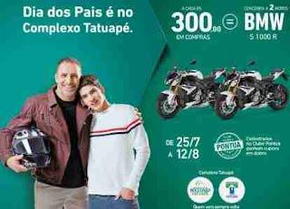 Promoção Shopping Metrô Tatuapé Dia dos Pais 2018 Dias Motos BMW