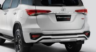 Beberapa Kelebihan New Toyota Fortuner TRD Sportivo