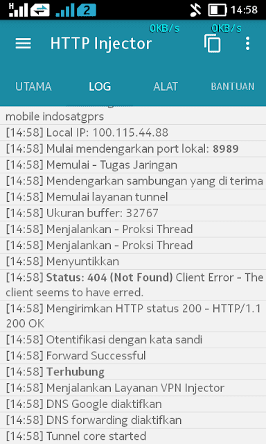 Update : Internet Gratis Indosat 2018 Dengan HTTP INJECTOR