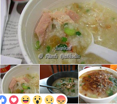 Resepi Bubur Ayam McD Paling Sedap dan Simple