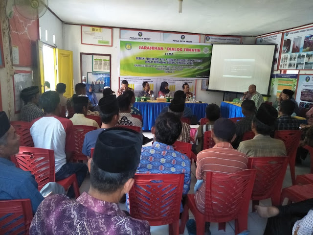 Peroleh Program Keserasian Sosial, FKS Desa Kaburu Gelar Dialog Tematik